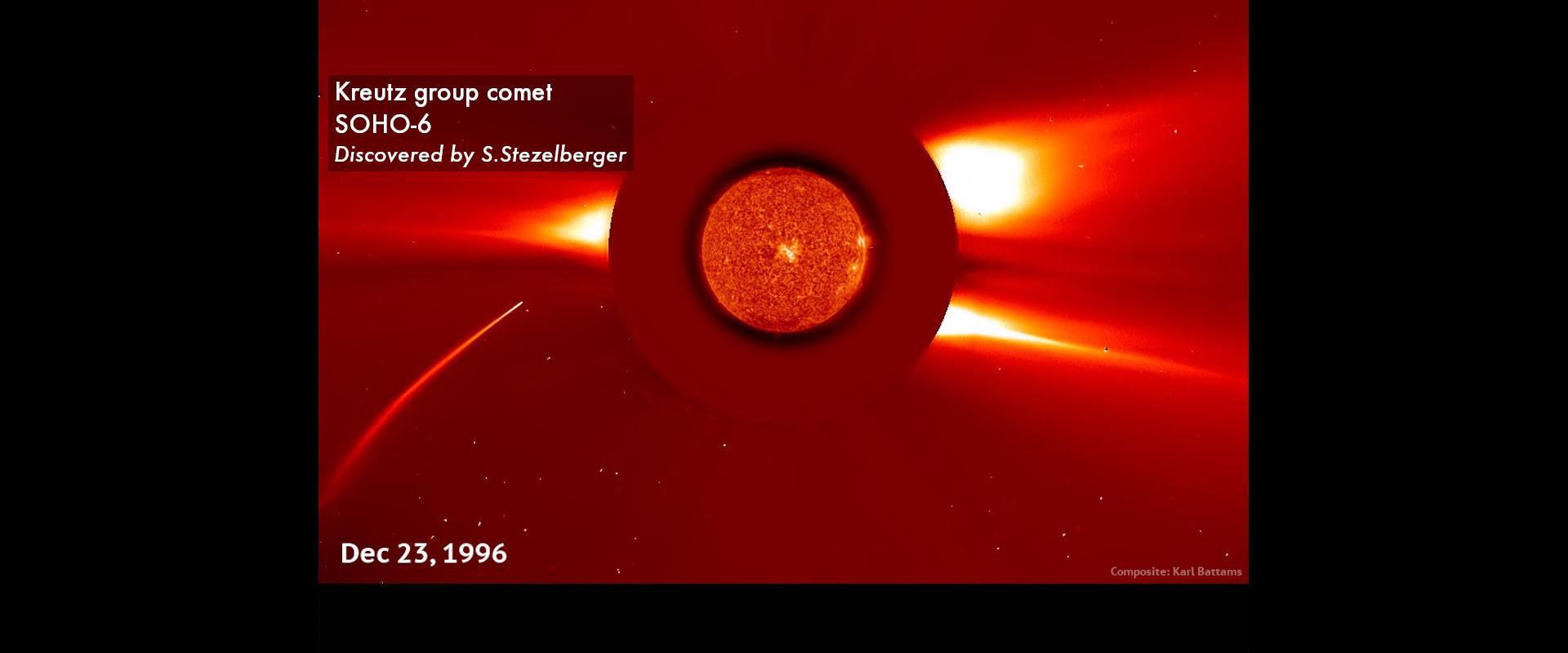 Kreutz group comet